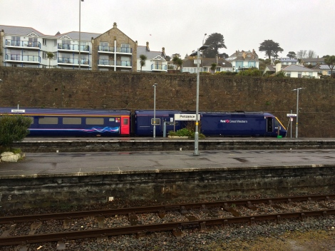 Great Western Train at Penzance Station